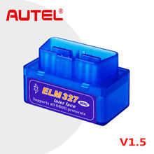 ELM327 V1.5 ELM 327 Bluetooth OBD2 Scanner, V1.5 Android Car Scanner Automotive OBD 2 Auto Diagnostic Tool scania Scaner VS V2.1