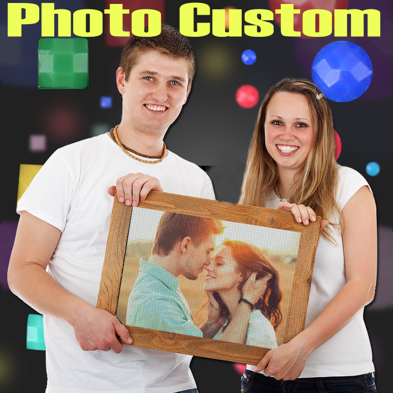 Private Photo Picture Custom Full Drill Diamond Painting Family Party Pet Decor