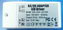 12w 30PCS LED LIGHT BULB LAMP Driver Transformer Power Supply DC 12V Good Quality full цена 2017