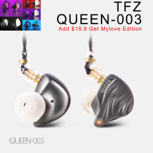 TFZ Queen In Ear Monitor Wired Super Bass Headset sport Bass Stereo Earbuds Neckband Fidelity Noise Cancell Earphones