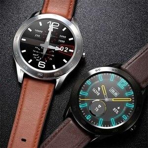 Image 5 - DT98 חכם שעון עמיד למים נשים גברים Smartwatch KSR909 עגול קצב לב מד צעדים מסר שיחת תזכורת חכם פעילות Tracker