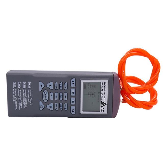 Купить манометр az9631 100 фунт/кв дюйм измеряет и записывает дифференциальное картинки цена