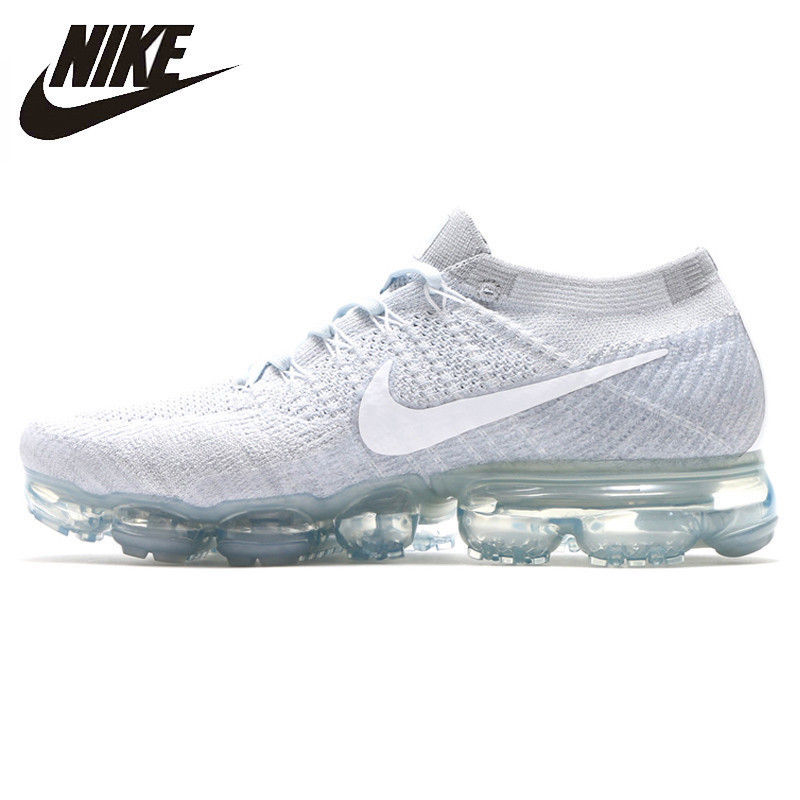 Nike Air Vapormax Flyknit Original New Arrival Men Running Shoes Breathable Non-slip Shock Absorbing Outdoor Sneakers#849558-006