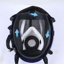Facepiece Respirator Kits 6800 Full Face Mask For Painting Spraying Gas Pesticide Chemical Fire Protection E65A