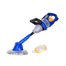 Электрическая модель игрушка для выгула детский инструмент газонокосилки