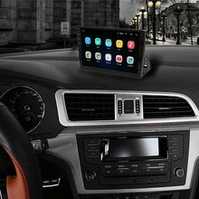 Mobil Universal 10.1 Inch Radio Android 8.1 GPS Navigasi WIFI Bluetooth Auto Stereo Universal Multimedia Radio Player(China)