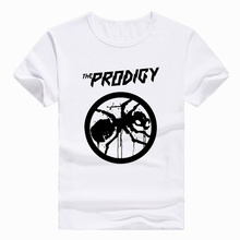 Asian Size Print THE PRODIGY EXPERIENCE Metal rock Band T-shirt Short sleeve O-Neck Tshirt For Men man HCP733