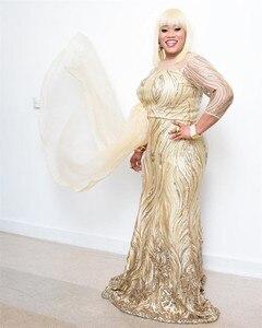 Image 4 - 2020 de alta qualidade africano lantejoulas tecido francês bordado tule tecido de renda para nigerian vestido de festa de casamento XY2651B 2