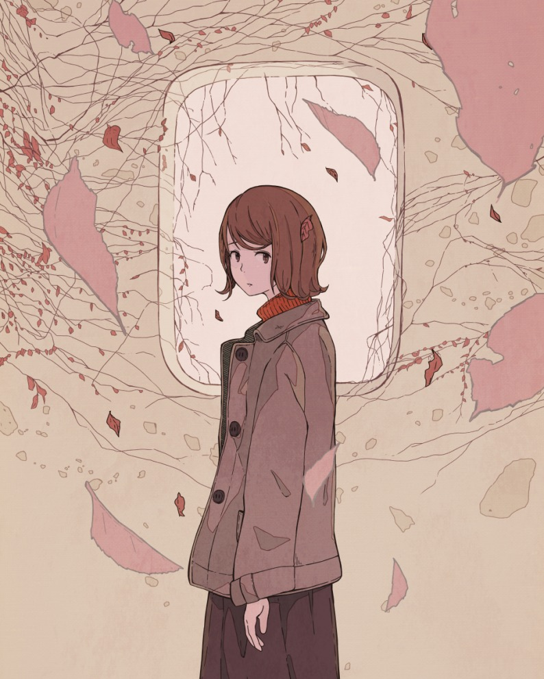 【学生制服】日本画师456画作,简约却不简单的女子高中生_图片 No.10
