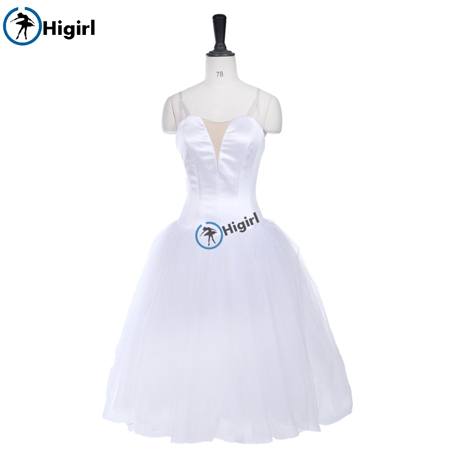 Adult Ballet Tutu Dress Romantic Professional Performance DressBT9245