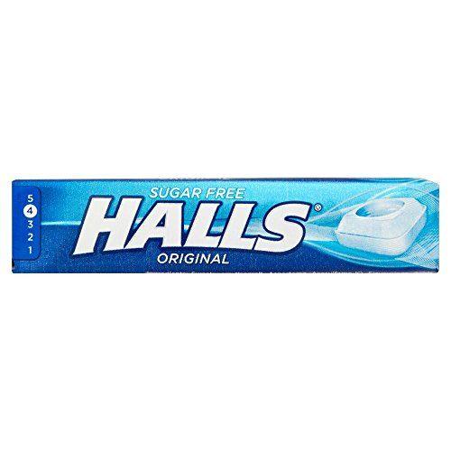 Halls Menthol Original Zuckerfreie Bonbons -6-er Pack