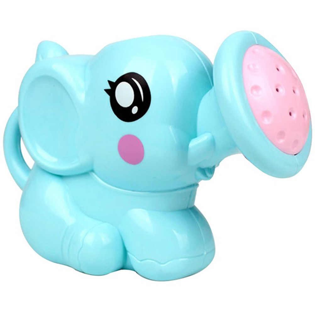 Baby Cartoon słoń prysznic czajnik noworodka szampon pod prysznic kubek Baby Shower kubek do wody wanna dziecko krzesełko do kąpieli zabawki #30