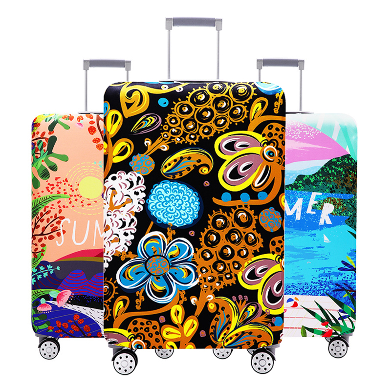 Thicken Luggage Cover Trolley Suitcase Case Elastic Luggage Protective Cover For 18-32 Inch Suitcase Covers Travel Accessorie