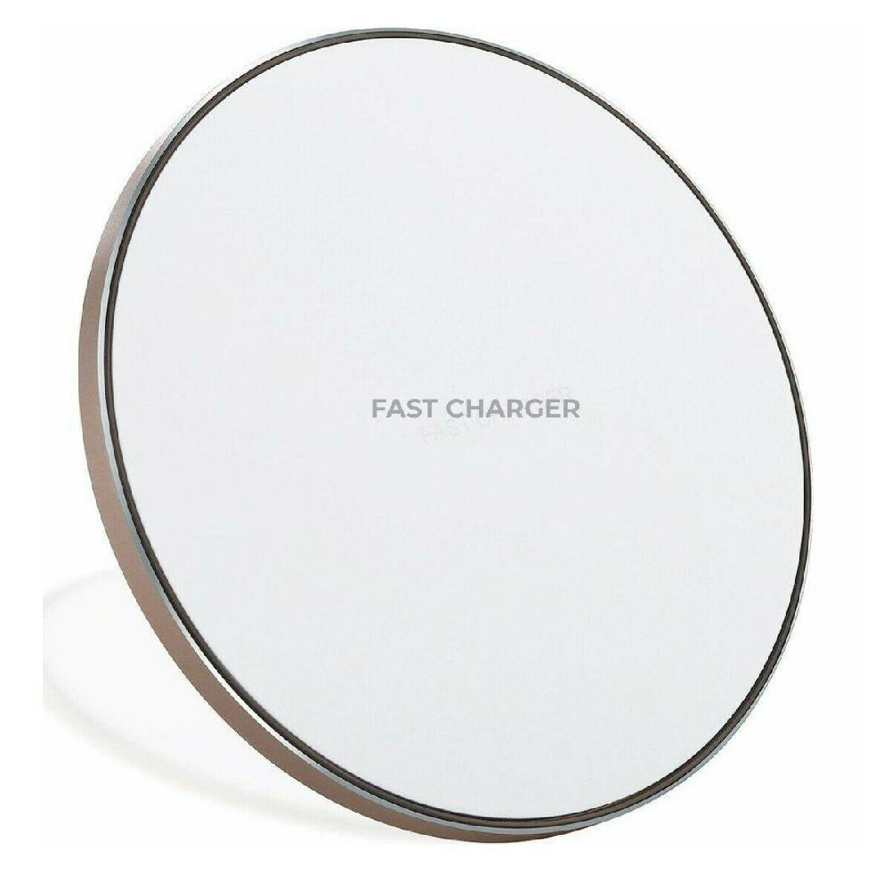 Qi 10W Wireless Charger Fast Charging Pad for iPhone 8 X XS XR Samsung Galaxy S7 S8 S9 S10 For Xiaomi MIX 2s MIX 3 9 in Wireless Chargers from Cellphones Telecommunications