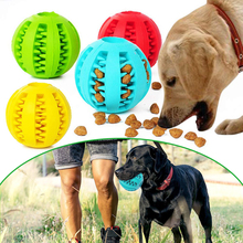 Pet Training ball Food Dispenser Toy Tumbler Dog leaking pet chew toys D40