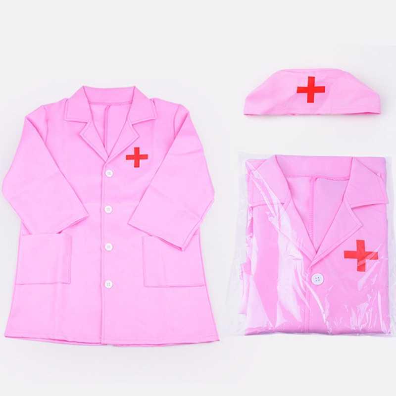 Della Ragazza dei bambini del Ragazzo Medico Dell'infermiera di Cosplay Del Costume Del Partito di Travestimento Vestiti Per I Bambini dei Capretti Ospedale di Esperienza Professionale di Gioco