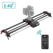 Track-Rail Camera-Slider Neewer Motorized Carbon-Fiber Wireless-Control Load-Up 22-Lbs
