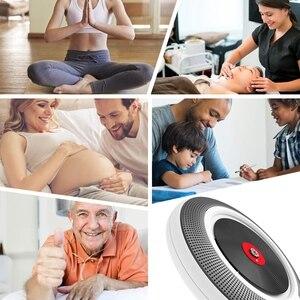 Image 4 - Taşınabilir CD çalar Bluetooth ile duvara monte FM radyo dahili HiFi hoparlörler uzaktan kumanda kulaklık jakı