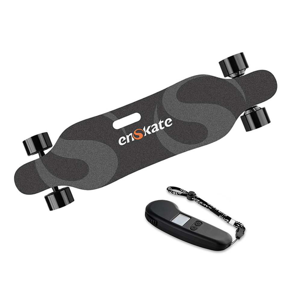 EnSkate R2 Electric Skateboard Max 22 MPH 15 Miles Range 900W Dual Motors  With Wireless Remote Control Eletric Scooter