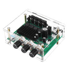 цена на TPA3116D2 80Wx2 Stereo Amplifier Audio Board Tpa3116 Digital Amplifier Sound Preamplifier Tone High Power Dc12-24V With Shell