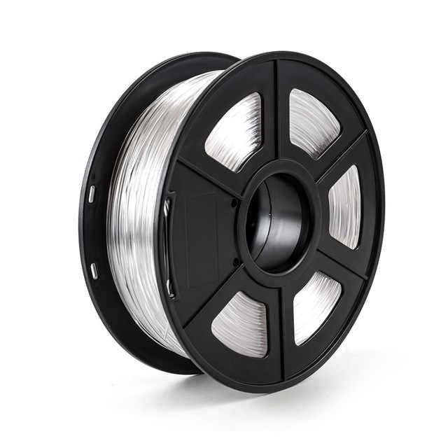 10 цветов волокно ПЭТГ для 3D-принтера 1,75 мм 1 кг черный поднос и желтый пакет высокая прочность на прочность жесткости
