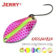 Jerry форель ложка рыболовная приманка для морской воды искусственная приманка с острыми крючками 2g 3g бас ложка Pecsa снасти