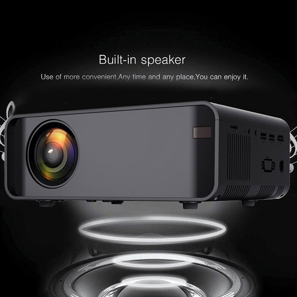 W80 HD Home Projector HDMI/AV/USB/SD/VGA Support Dolby Sound Basic Edition Euro Regulation Support 4K video BeamerFul Lumens HD - 5