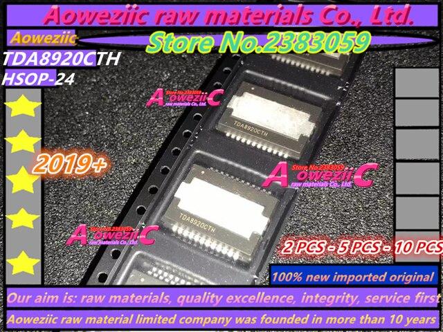 Aoweziic 2019+ 100% new imported original  TDA8920CTH/N1 TDA8920CTH  TDA8920C  HSOP24 Class D Audio Power Amplifier Chip