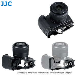 Image 5 - JJC Extension Grip For Canon EOSRP EOS RP Camera Holder Arca Swiss Type Quick Release Plate Anti Slip Pad Replaces Canon EG E1