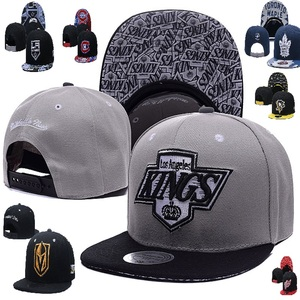 2020 New Fashion Hockey Capitals Adjusted Caps Golden Red Bruins Hats Kings Wings Adjustable Leafs Baseball Knights Gorras