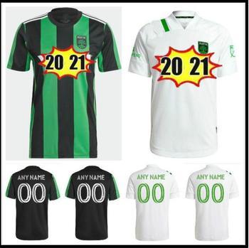 2021 Austin FC koszulki piłkarskie nowy inauguracyjny MLS 21 22 odważny dom czarny zielony DARIO CONCA KLEBER XAVIER BAEZ mężczyzn zestawy piłka nożna shi tanie i dobre opinie CN (pochodzenie) Soccer