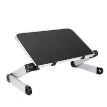 Desk Notebook-Stand Laptop-Table Office-Bed Folding for 360-Degree