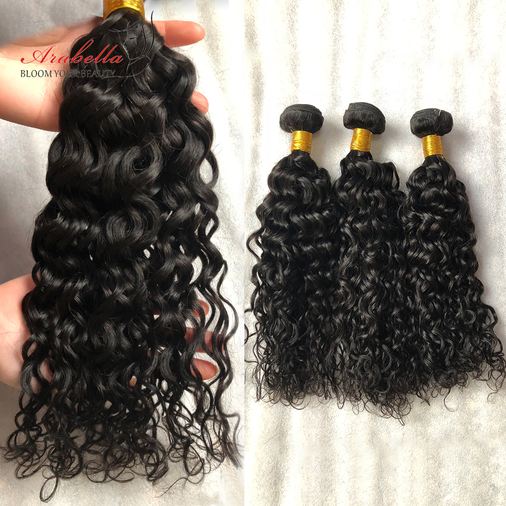 Water Wave Hair Bundles 100%    Arabella Natural Color  Hair  Bundles  1