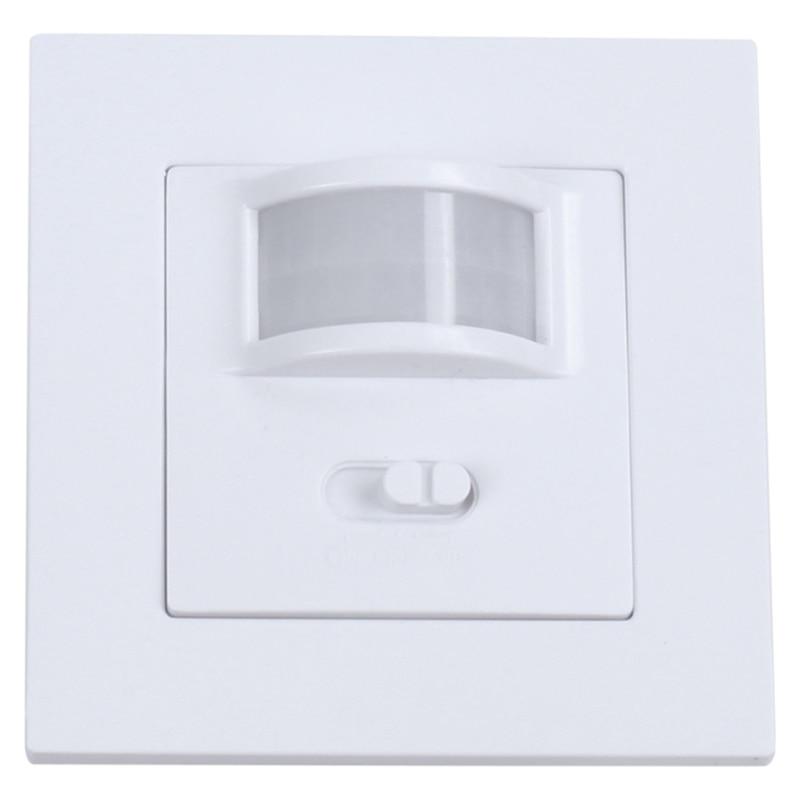 Doluluk sensörü PIR hareket sensörlü lamba anahtarı varlığı algılama seçim anahtarı title=