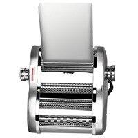 Máquina de macarrão elétrica do agregado familiar automática pequena multi-função um tipo de faca de aço inoxidável máquina de pressão da pele de bolinho