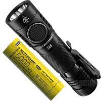NITECORE E4K 4400 Lumens 4xCREE XP L2 V6 LED Torch Compact EDC Flashligh t+ 5000mAh 21700 Battery Outdoor Camping Fishing Search