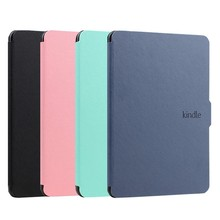Case for Amazon Kindle 8th Generation 2016 Smart Shell Leather Flip Cover with Auto Sleep Wake