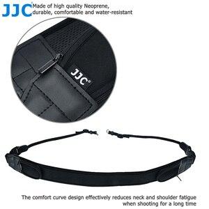 Image 5 - Jjc ajustável liberação rápida confortável câmera alça de ombro pescoço para nikon z6 z7 p1000 d7500 d5600 canon eos r 5dm4 80d 77d 70d t7i