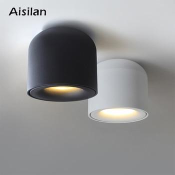 Aisilan السطحية الخيالة LED النازل البوليفيين بقعة ضوء لغرفة المعيشة ، غرفة نوم ، مطبخ ، حمام ، الممر ، AC 90v-260v