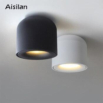Aisilan سطح شنت مصباح led للإضاءة السفلية بقعة ضوء لغرفة المعيشة ، غرفة نوم ، المطبخ ، الحمام ، الممر ، AC 90 v-260 v