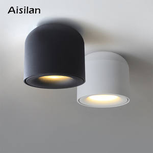 LED Downlight Surface-Mounted Bathroom Kitchen Living-Room Aisilan COB for Corridor 90v-260v