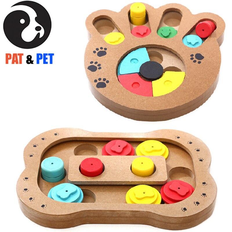 Chien intelligent Puzzle jouets chiot traiter distributeur interactif chien jouets