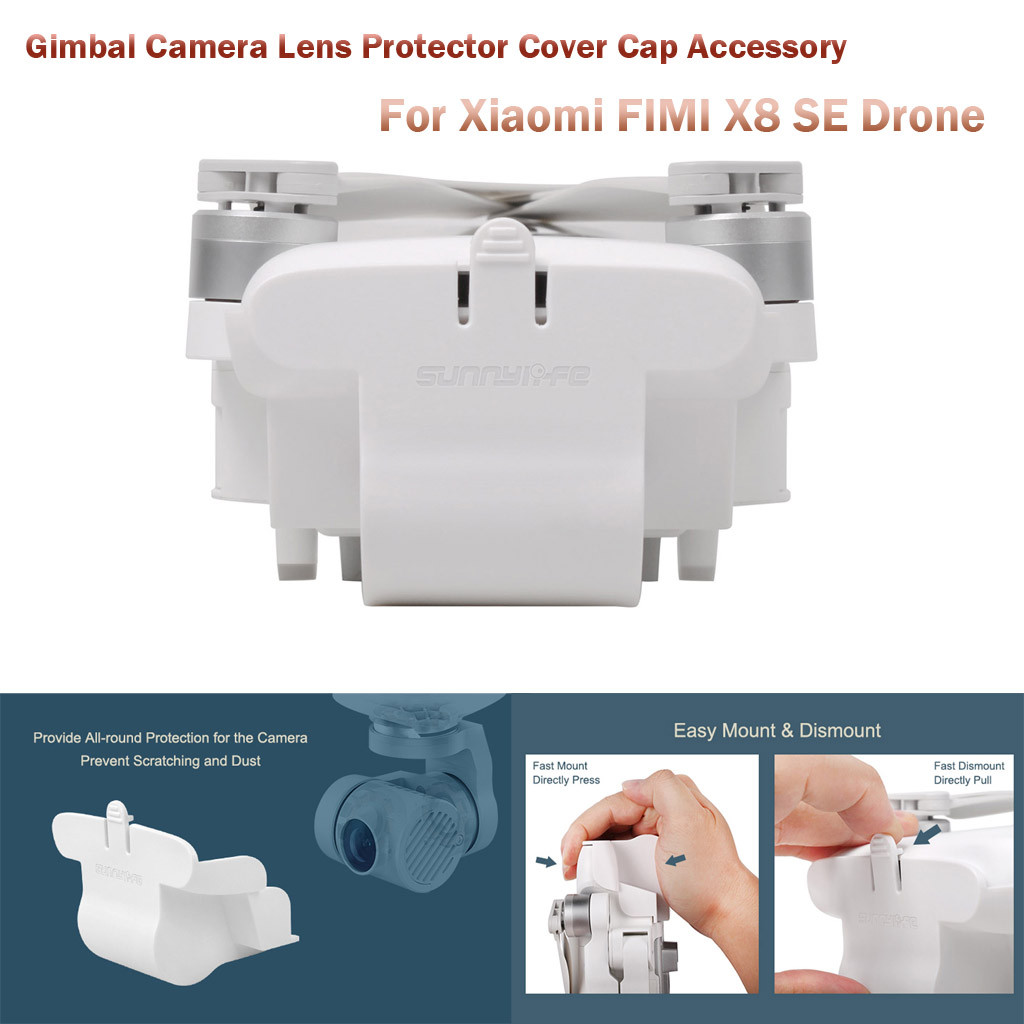 Gimbal Camera Lens Protector Cover Cap Accessory For Xiaomi FIMI X8 SE Drone Kids  Drone Quadcopter Children Toys Foldable#10
