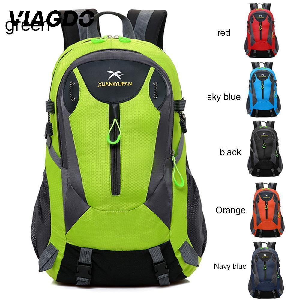 Waterproof Backpack Shoulder Hiking Bag Pack Outdoor Camping Travel Rucksack 40L