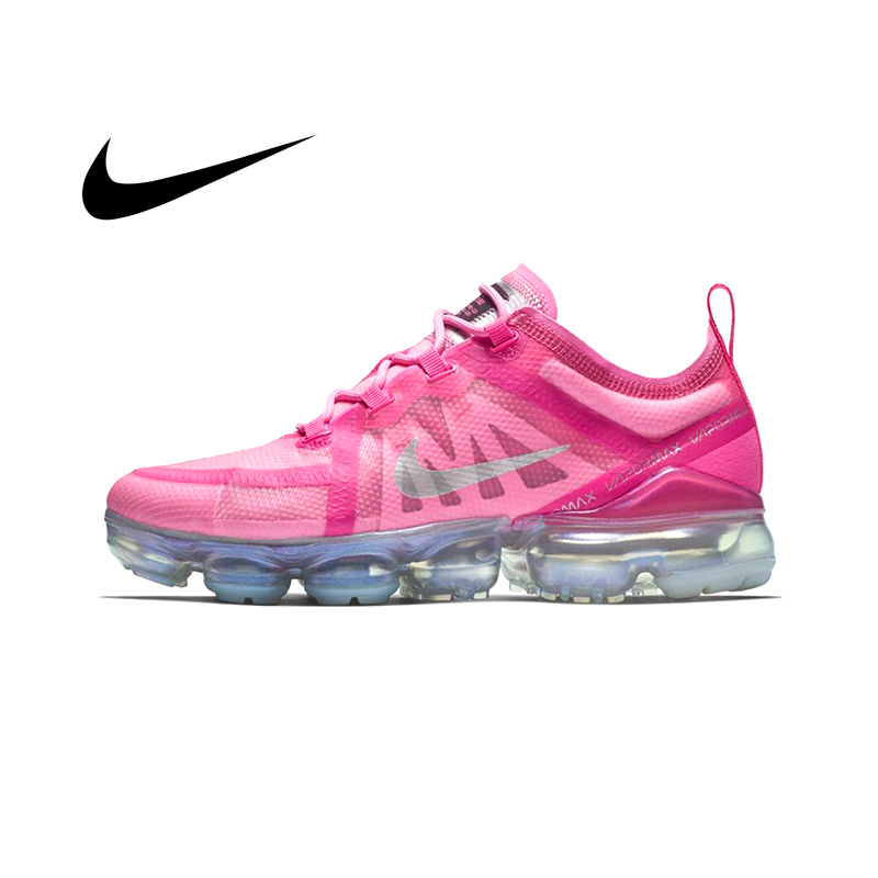 Original Authentic Nike Air VaporMax Running Shoes Women's Shoes Sports Shoes Outdoor Comfortable Trend New Color Listing 2019