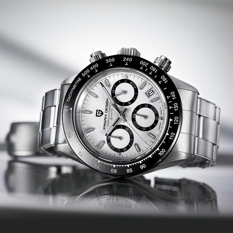 Masculinos de Quartzo Relógio de Negócios dos Homens Relógios de Topo da Marca de Luxo Pagani Design Novos Relógios Relógio Masculino Cronógrafo 2020 Mod. 151544