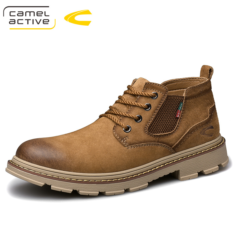 2020 Autumn Winter Early Winter Outdoor Shoes Casual Shoes Tooling Shoes Martin Boots Dynamic Real Shoes High Top Men's Shoes