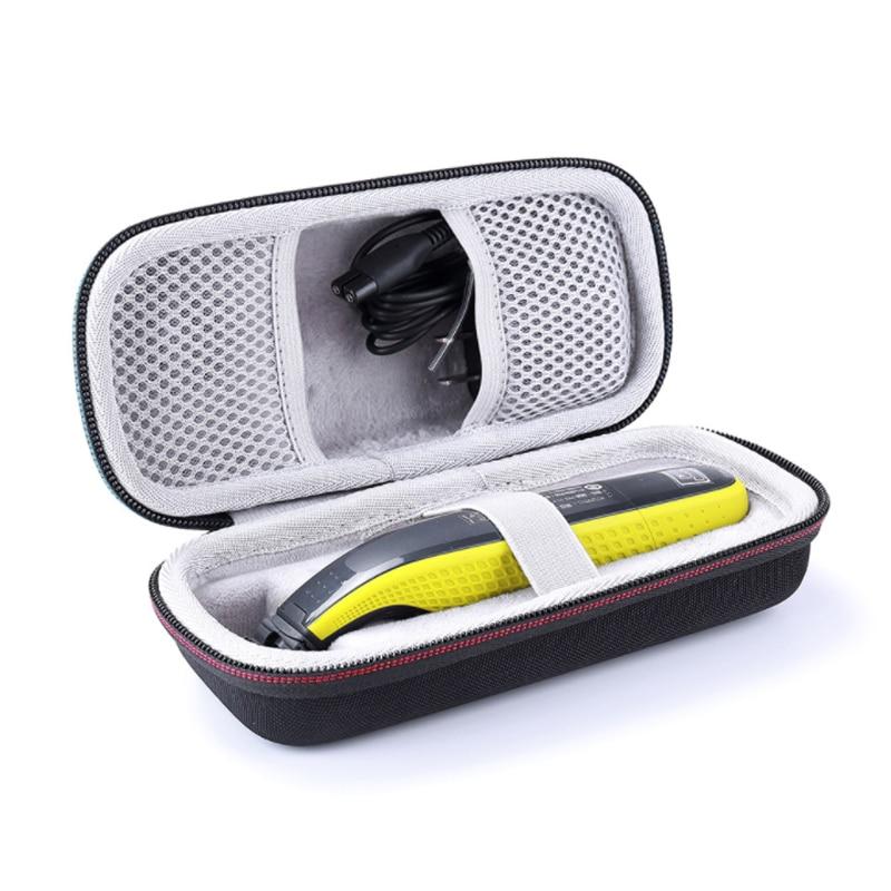 Basedidea eva caso de armazenamento barbeador protetor para philips oneblade barbeador caixa portátil aparador barba proteção saco