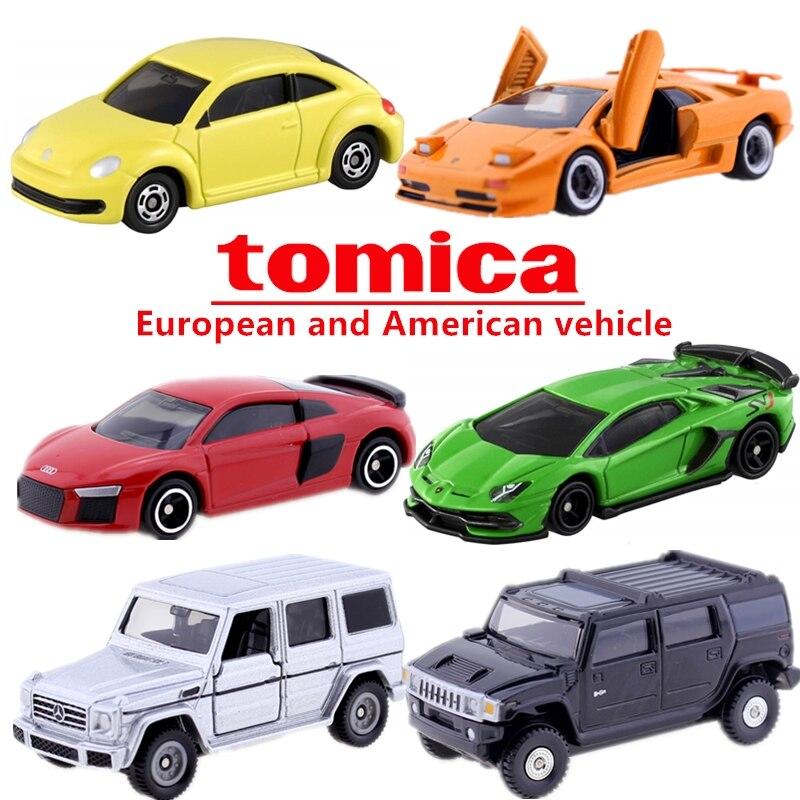 Takara Tomy Tomica European Car Lotus Porsche Renault Volkswagen Mclaren Fiat CAR Toy EUROPA EXIGE GTr Diecast Hot Model Kit