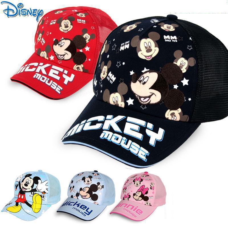 Original Disney Children's Hat Summer 1-14 Year Old Children Cap Sun Hat Sun Hat Boy And Girl Baby Baseball Cap